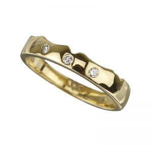 Solvar 18K Diamond Wedding Band S2637