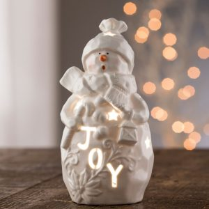 Belleek Living Joy Snowman