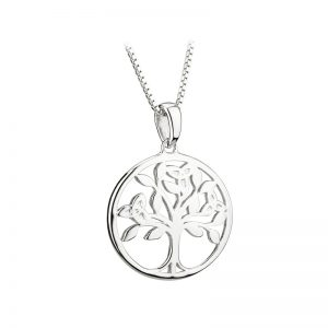 Solvar Sterling Silver Tree Of Life Pendant S46479