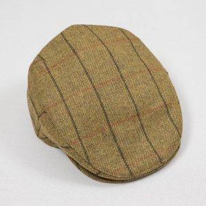 John Hanly Mustard Windowpane Cap