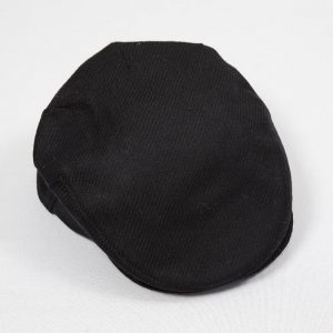 John Hanly Black Wool Cap