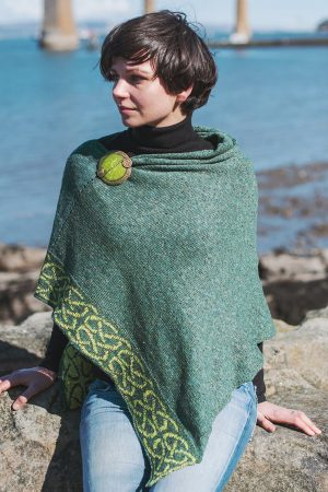 Bill Baber Evergreen Wallace Shawl