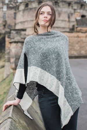 Bill Baber Donegal Wool Silver Cape