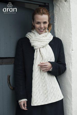 Aran Woollen Mills Super Soft Merino Wool Shawl