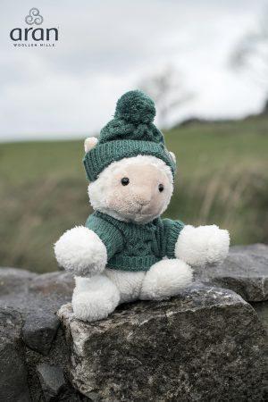 Aran Woollen Mills Sheep With Aran Jumper