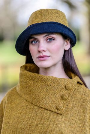 Mucros Yellow Clodagh Hat