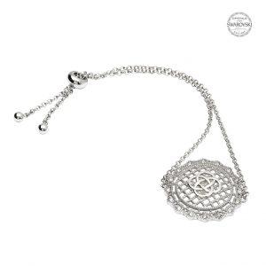Irish Lace Silver Celtic Knot Bracelet