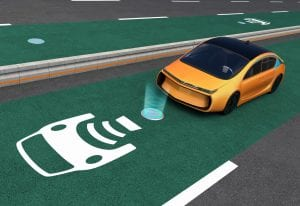 wireless charging lane