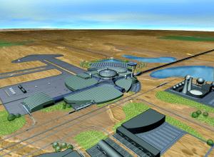 Hypothetical StarTram Spaceport
