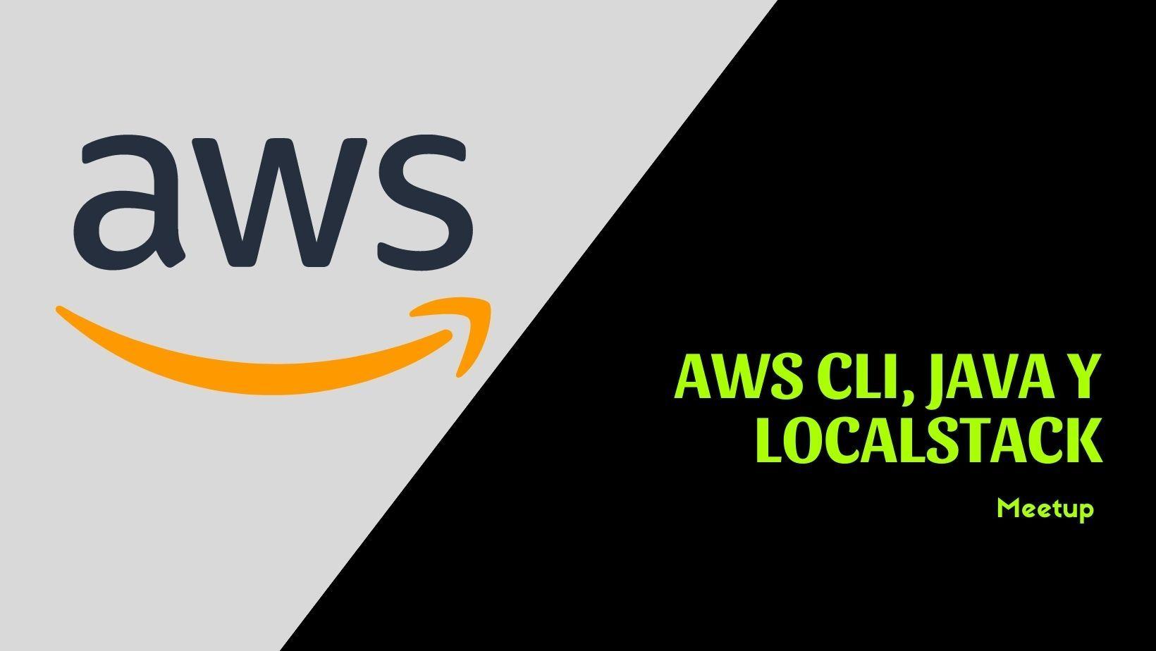 AWS CLI LocalStack y AWS SDK para java V2