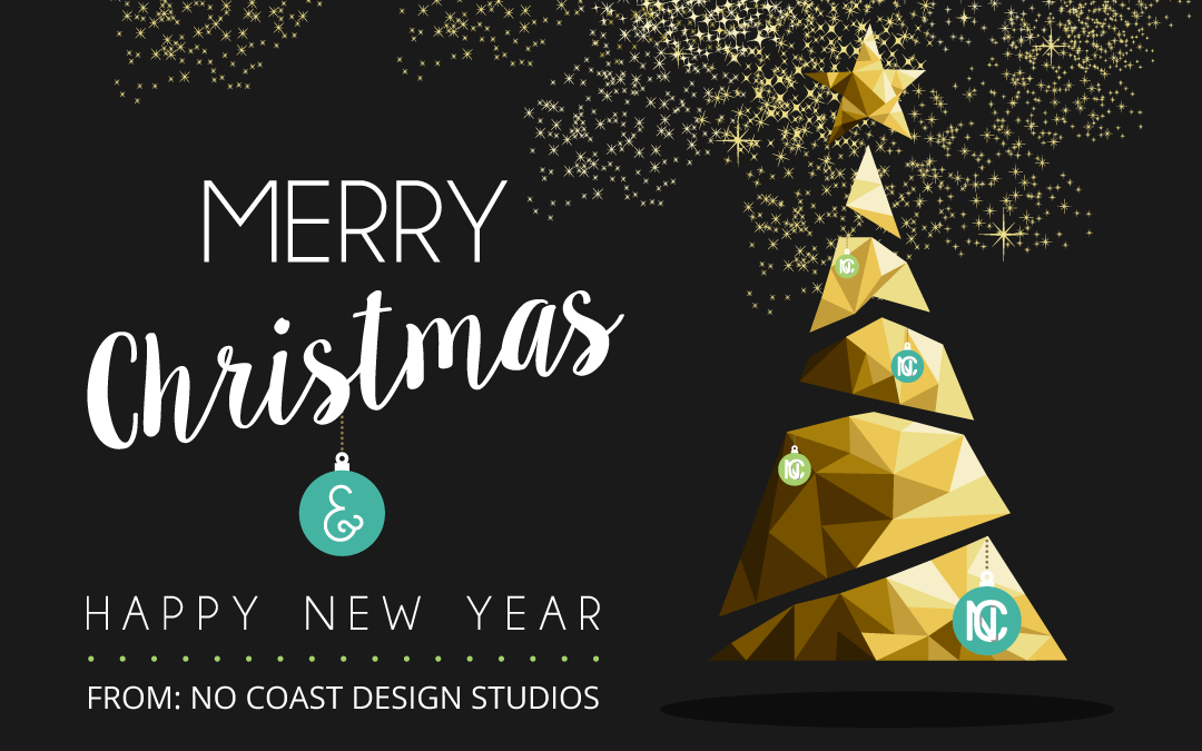 Merry Christmas From Us at No Coast Design Studios