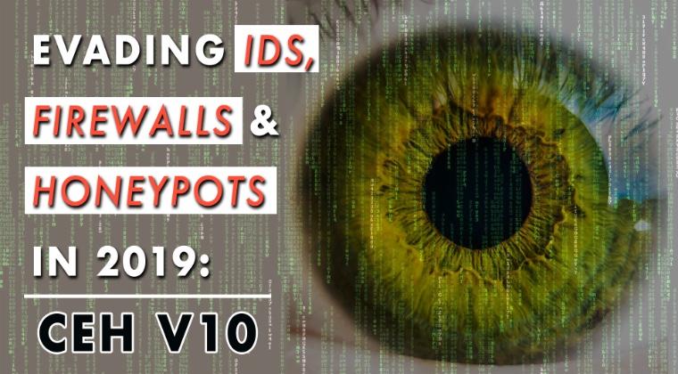 THUMBNAIL Evading IDS, Firewalls, And Honeypots