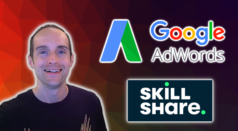 THUMBNAIL Google AdWords For Skillshare Enrollments With Responsive Display Network Remarketing Ads!