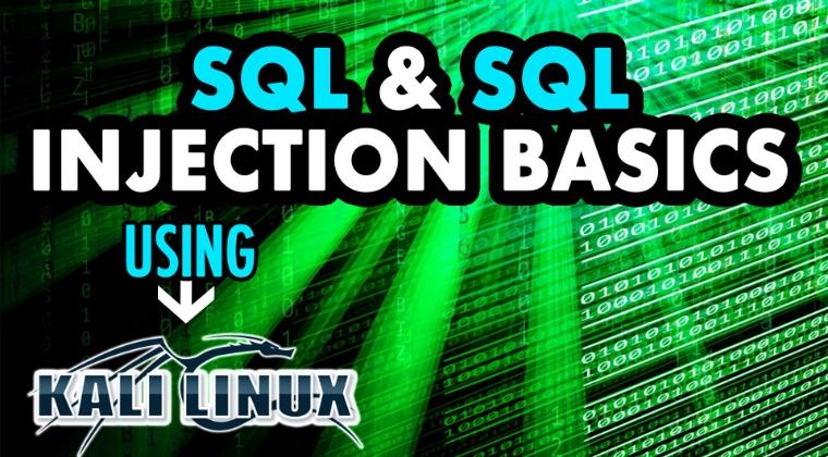 THUMBNAIL The SQL & SQL Injection Basics Using Kali Linux