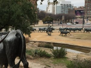 Pioneer Plaza, Cattle Drive - Robert Summer