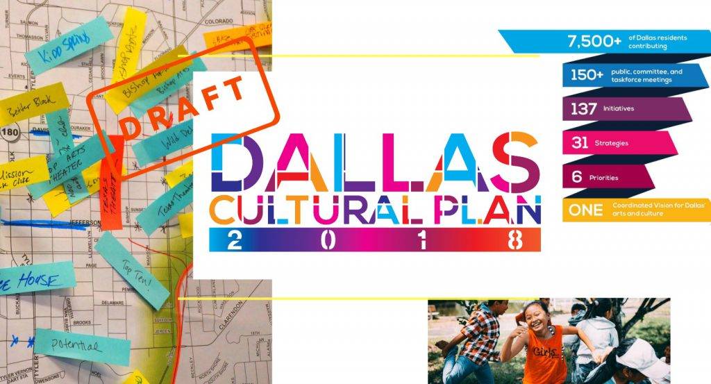 Read the draft of the Dallas Cultural Plan