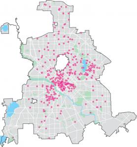 Cultural Ecosystem Map Dallas Cultural Plan - Cultural-map-of-the-us