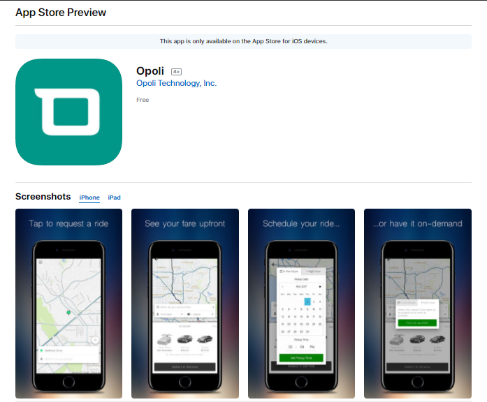 Opoli's Rideshare Mobile App That Will Change The Way You