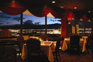 View from Binion's Ranch Steakhouse (Courtesy TLC Casino Enterprises)