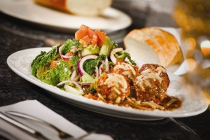 Martorano's meatballs (Courtesy: Harrah's Entertainment)
