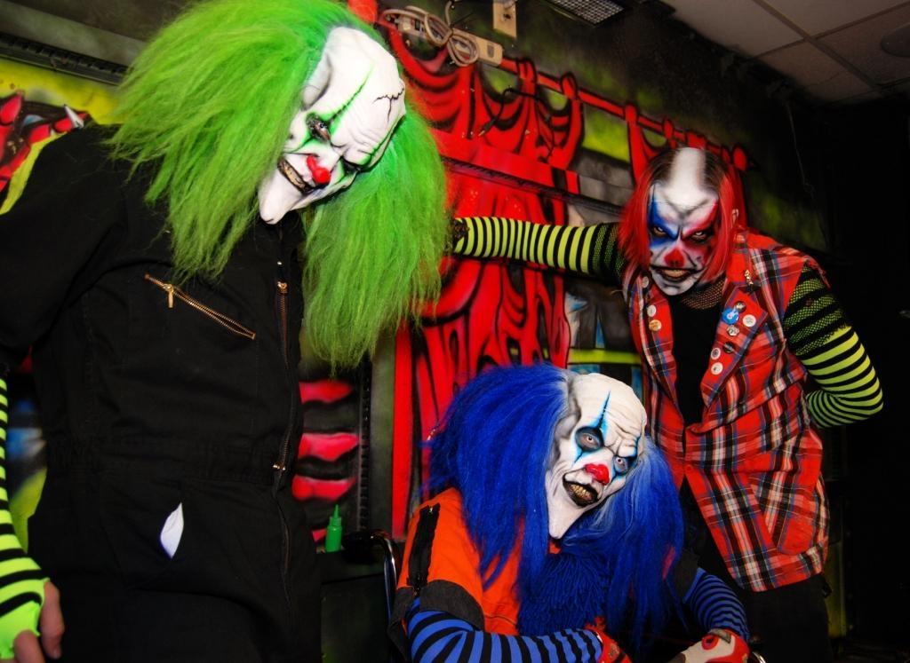 Clowns at CircusCircus' Frightdome (courtesy PR Plus)