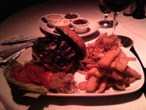 Bradley Ogden burger (Photo: E.C. Gladstone)