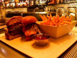 The burger at RM Seafood (Photo: E.C. Gladstone)