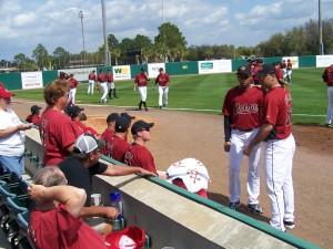 Osceola County Stadium, home of the Houston Astros (Credit Florida Sports Foundation)
