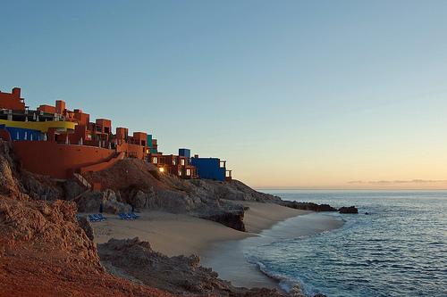 Sunrise in Los Cabos. Credit: Ken Bosma.