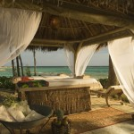 Beachfront massages at Sandals Bahamanian.
