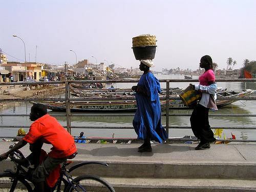 Saint Louis, Senegal. Credit: Jeff Attaway