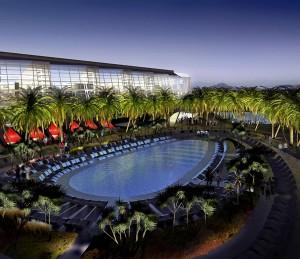One of Aria's hosts three newest, swankiest pools on the Las Vegas hotel scene