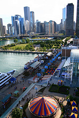 See Chicago from atop the Navy Pier Ferris Wheel. Credit: theycallmetelly.