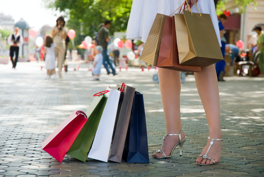 Sales tax holiday shopping on your vacation.