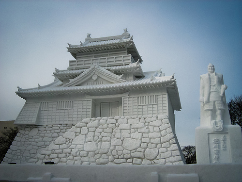 Over two million people flock to the Sapporo Snow Festival in Japan every year! Photo: