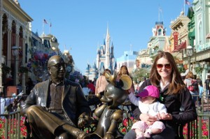 Jeanenne at Disney