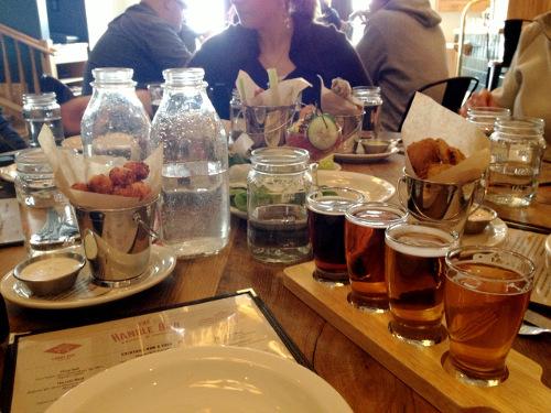 Handle Bar Beer Flights