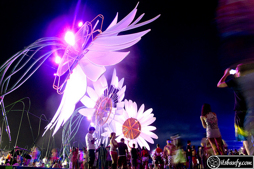 Electric Daisy Carnival. Credit: b@nfy.