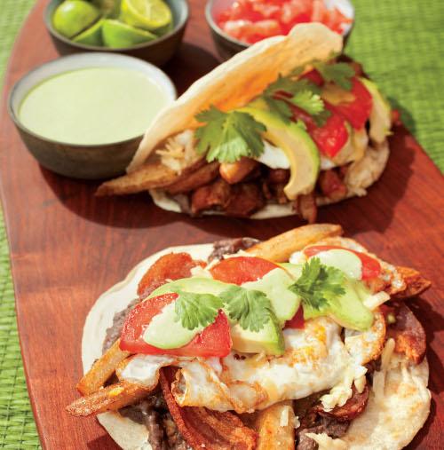 Tipsy Texan breakfast tacos. Yum. Photo: Courtesy of the History Press