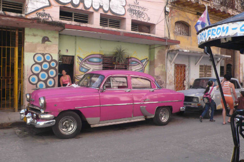 One of Havana's many coveted 1950s car