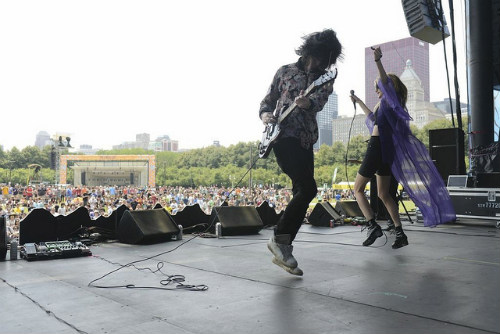IO Echo at Lollapalooza 2013 ©Dave Meade