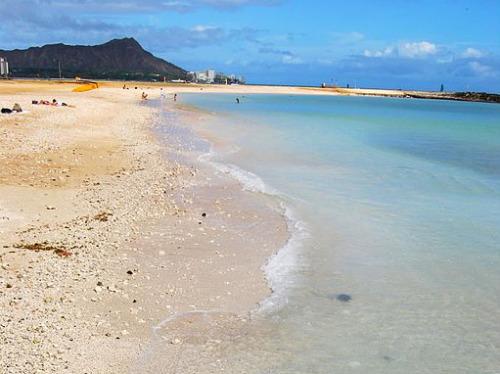 Ala Moana Beach stands in for Waikiki