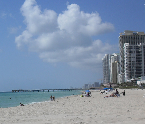 Sunny Isles Beach stands in for Miami Beach