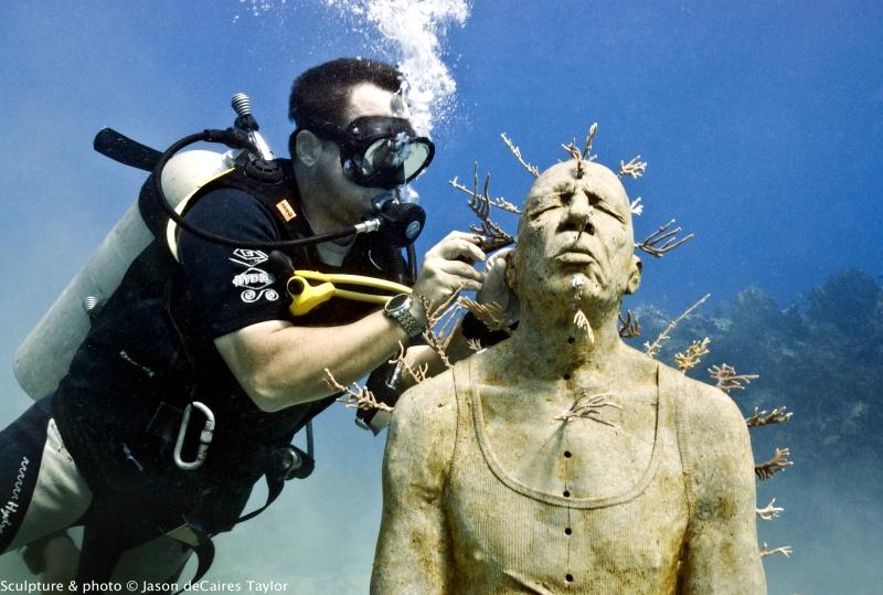 The Cancun Underwater Museum