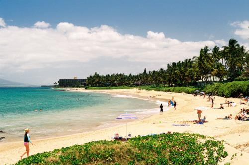 Lahaina Beach, Hawaii
