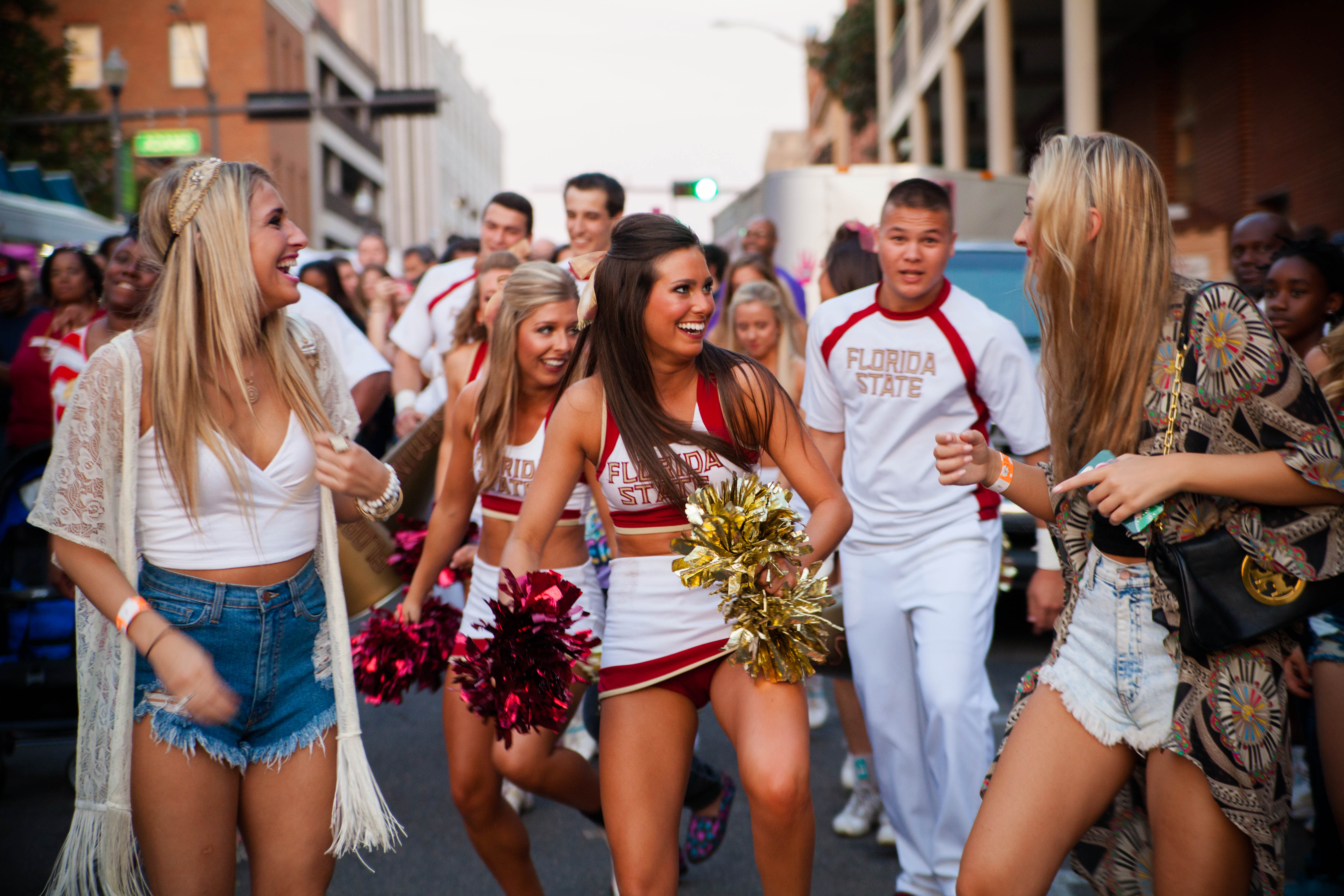 Tallahassee's football party