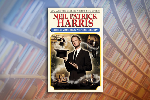 Neil Patrick Harris's new book
