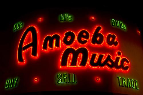 Amoeba music store, Hollywood