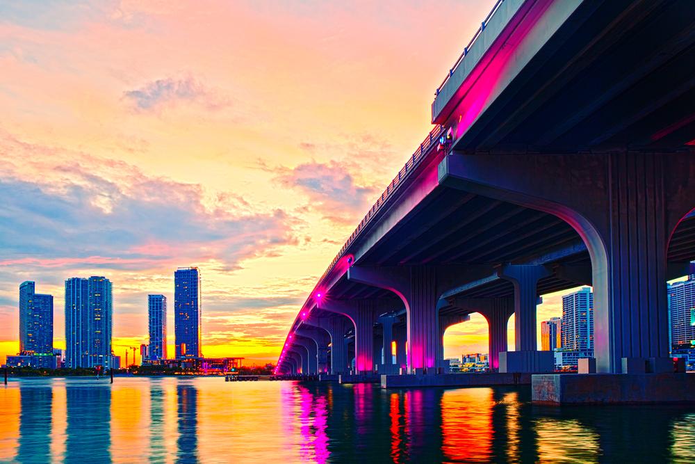 Macarthur Causeway-florida