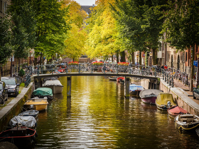 Netherlands Canal.700